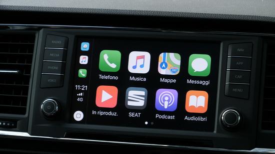 Le molte App dell'Infotainment Seat Ateca