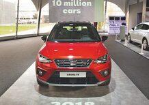 Seat, a Martorell 10 milioni di vetture prodotte in 25 anni