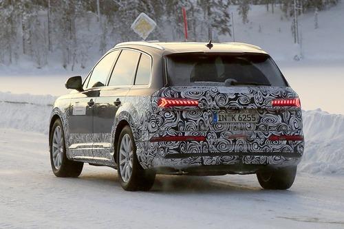 Audi Q7, atteso il restyling [Foto spia] (6)