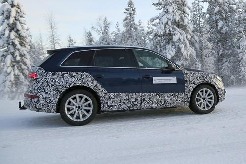 Audi Q7, atteso il restyling [Foto spia] (8)