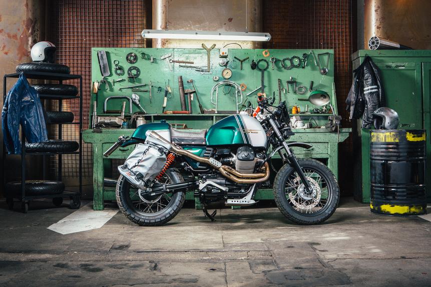 Le Moto Guzzi di Lord Of The Bikes in mostra Motoplex (2)