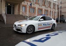 Romania, la stradale con una nuova berlina italiana: Alfa Romeo Giulia