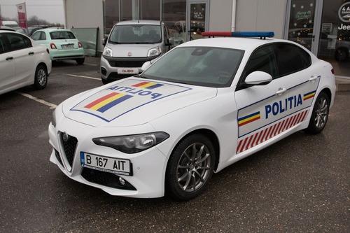 Romania, la stradale con una nuova berlina italiana: Alfa Romeo Giulia (4)