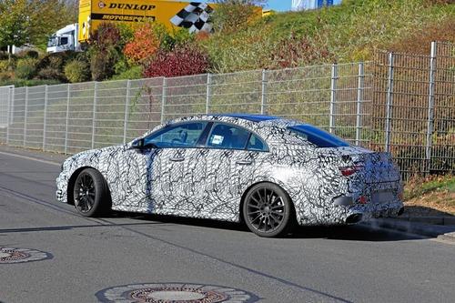 Mercedes, in arrivo le potenti CLA 35 e 45 AMG [Foto spia] (7)