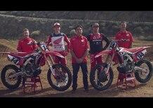 HRC: Roczen e Seely si... scaldano per il Supercross