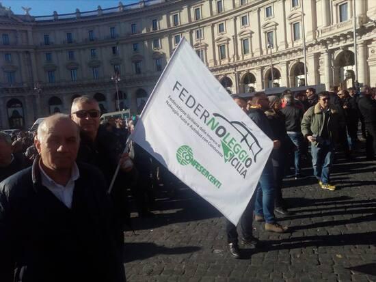 Proteste NCC a Roma