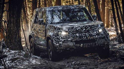 Nuovo Land Rover Defender, le prime immagini ufficiali (2)