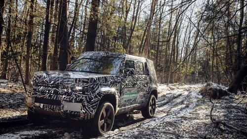Nuovo Land Rover Defender, le prime immagini ufficiali (4)
