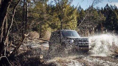 Nuovo Land Rover Defender, le prime immagini ufficiali (6)