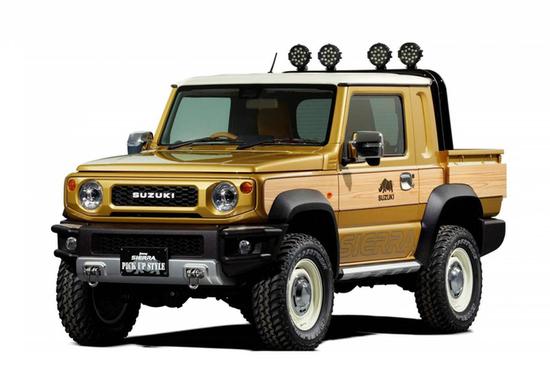 Suzuki Sierra e Survive: ecco il pick-up derivato Jimny