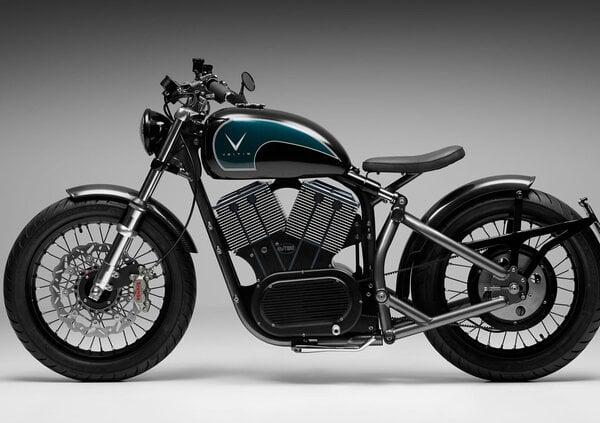 Veitis Ev-Twin, la moto elettrica dal sapore vintage