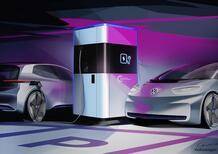 Stazione Mobile di Ricarica auto elettriche: da VW la power bank per gli EV
