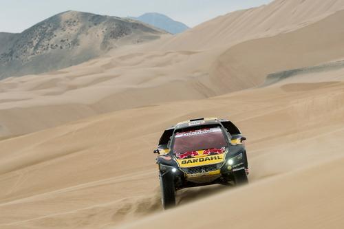 Dakar Perù 2019 Loeb-Peugeot. Pisco: nulla da segnalare (2)