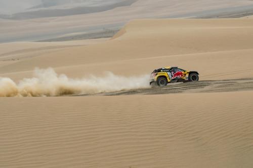 Dakar Perù 2019 Loeb-Peugeot. Pisco: nulla da segnalare (7)
