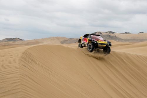 Dakar Perù 2019 Loeb-Peugeot. Pisco: nulla da segnalare (8)