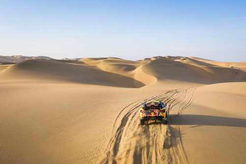 Dakar Perù 2019 Loeb-Peugeot. Pisco-Nazca-San Juan de Marcona: si vince! (7)
