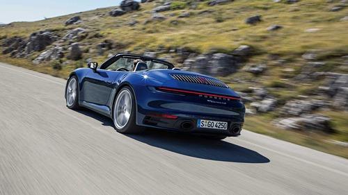 Porsche 911 Cabrio, le prime foto (3)