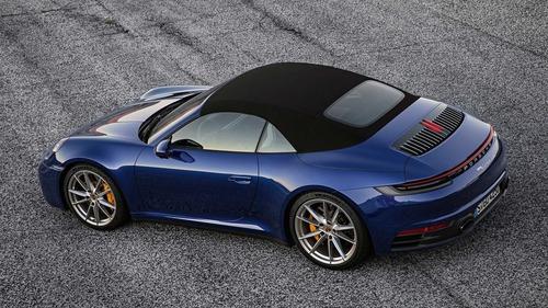Porsche 911 Cabrio, le prime foto (5)