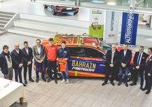 Il Team Bahrain Merida con le Kia di Autotorino e Rent2Go: Optima l'ammiraglia, Sportage e Ceed in supporto
