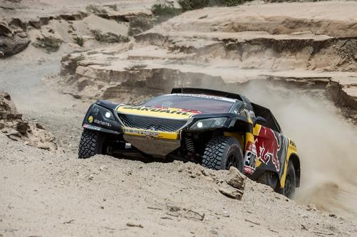 Dakar Perù 2019 Loeb-Peugeot. Non il giorno ideale per affrontare il Rally nel caos (3)
