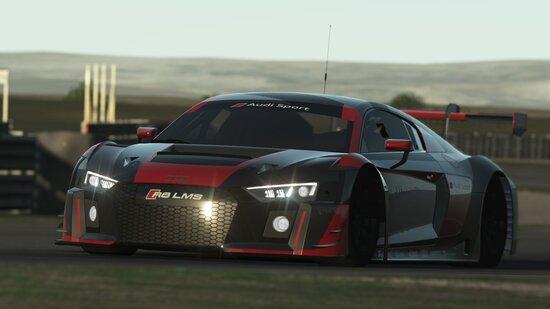 L'Audi R8 LMS è veloce, gestibile e ben equilibrata anche con assetto originale
