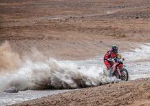 Dakar 19 100% Perù. Marathon, 1° Parte, Brabec (Honda) e Al Attiyah (Toyota)