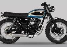 Mutt Motorcycles Mutt Super 4 Blue 125