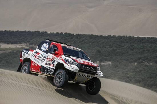 Al-Attiyah nella Tappa 6 della Dakar 2019