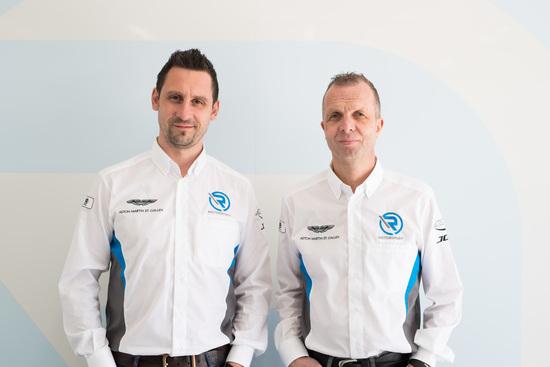 Florian Kamelger e Andreas Baenziger, i fondatori di AF Racing ed R-Motorsport
