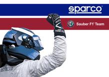 F1, Sparco official partner dell'Alfa Romeo Sauber