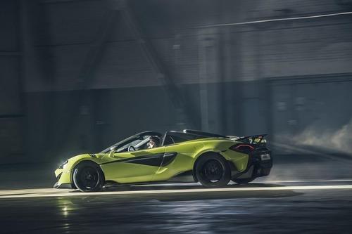 McLaren 600LT Spider, vento e leggerezza (8)