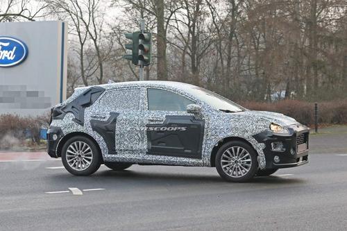 Ricordate la Ford Puma? Rinasce Crossover per il 2020 [foto gallery] (6)