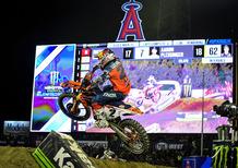 SX 2019. Webb alla prima in 450 ad Anaheim