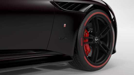 Dettagli racing sulla Aston Martin DBS Superleggera TAg Heuer Edition
