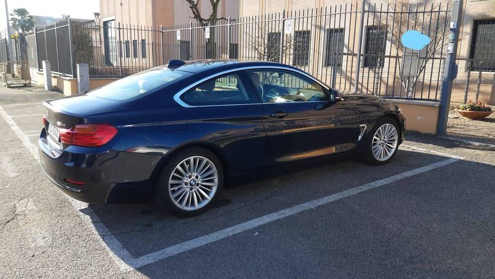 BMW Serie 4 Coupé 420d  Luxury del 2014 usata a Somma Lombardo (2)