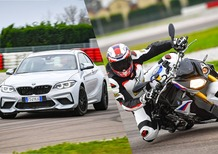 BMW M2 Competition vs BMW S 1000R