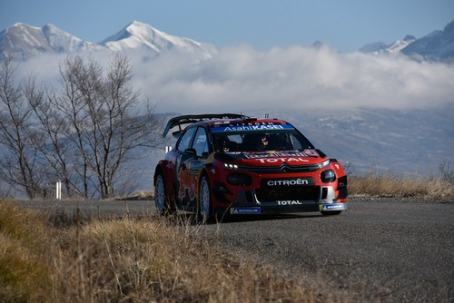 WRC 2019. Monte-Carlo. Ouverture. Tanak (Toyota) (4)