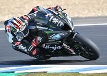 SBK - Rea è il più veloce nei test di Jerez