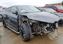Lamborghini Urus: crash con 1.200 km, in vendita a 115.000 dollari