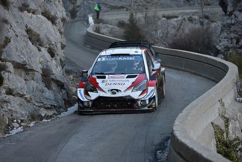 WRC19, Monte-Carlo. Roba da Chiodi, Ogier (Citroen) in Testa (4)