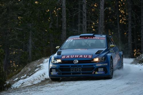 WRC19, Monte-Carlo. Roba da Chiodi, Ogier (Citroen) in Testa (8)