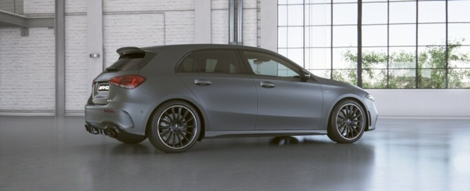 AMG A35 4matic: serie speciale Race Edition
