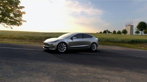 Tesla Model 3: la baby-elettrica compatta (6)