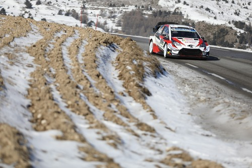 WRC19, Monte-Carlo: Ogier (Citroen) un Mostro (4)