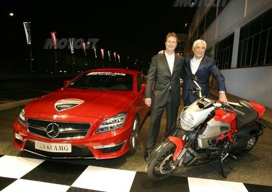 AMG-Ducati: fidanzamento scritto nelle stelle