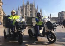 Poste Italiane: in servizio i primi tricicli elettrici