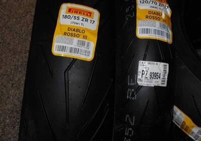 DIABLO ROSSO III Pirelli Coppia 120/70-180/55 ZR 17 - Annuncio 6332541