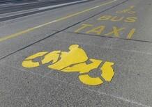 Poche le preferenziali per le moto e troppi i guardrail pericolosi