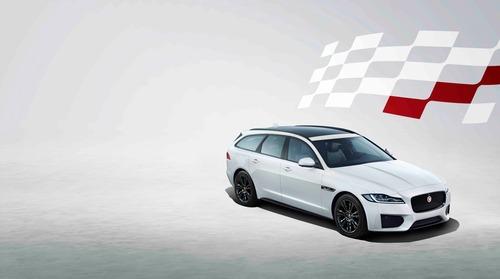 Jaguar XF e XF Sportbrake, arriva la serie speciale Chequered Flag (3)