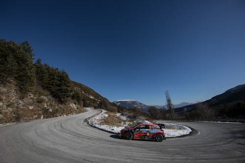 WRC 2019. Rally di Montecarlo, le foto più belle (8)